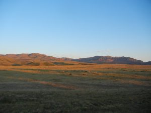 foothills of Carter Mountain