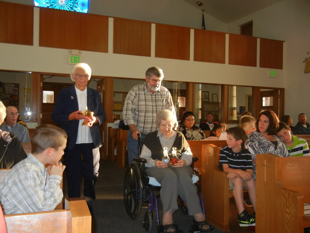 Presentation of Gifts, St. Paul's 100th Anniversary Mass
