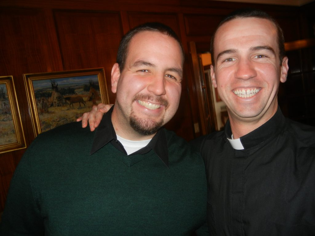 Andrew Kinstetter and Deacon Brian Hess.
