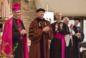 Applauding Bishop Conley