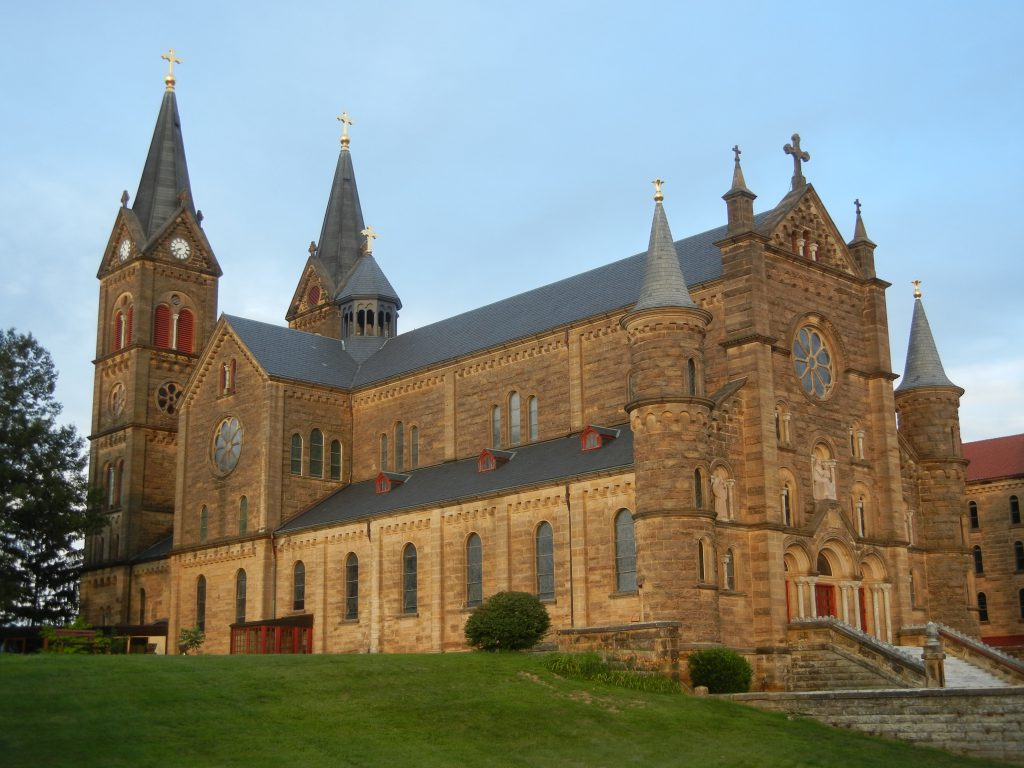 Saint Meinrad Archabbey Church.