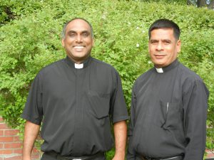 Rev. Thomas George along with Rev. Arulanandu David