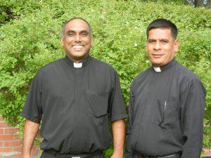 Rev. Thomas George along with Rev. Arulanandu David