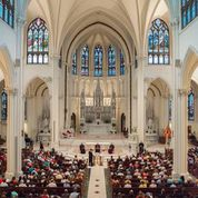 Denver Cathedral, Prayer Service For Peace.  (Photo Courtesy Archdiocese of Denver)