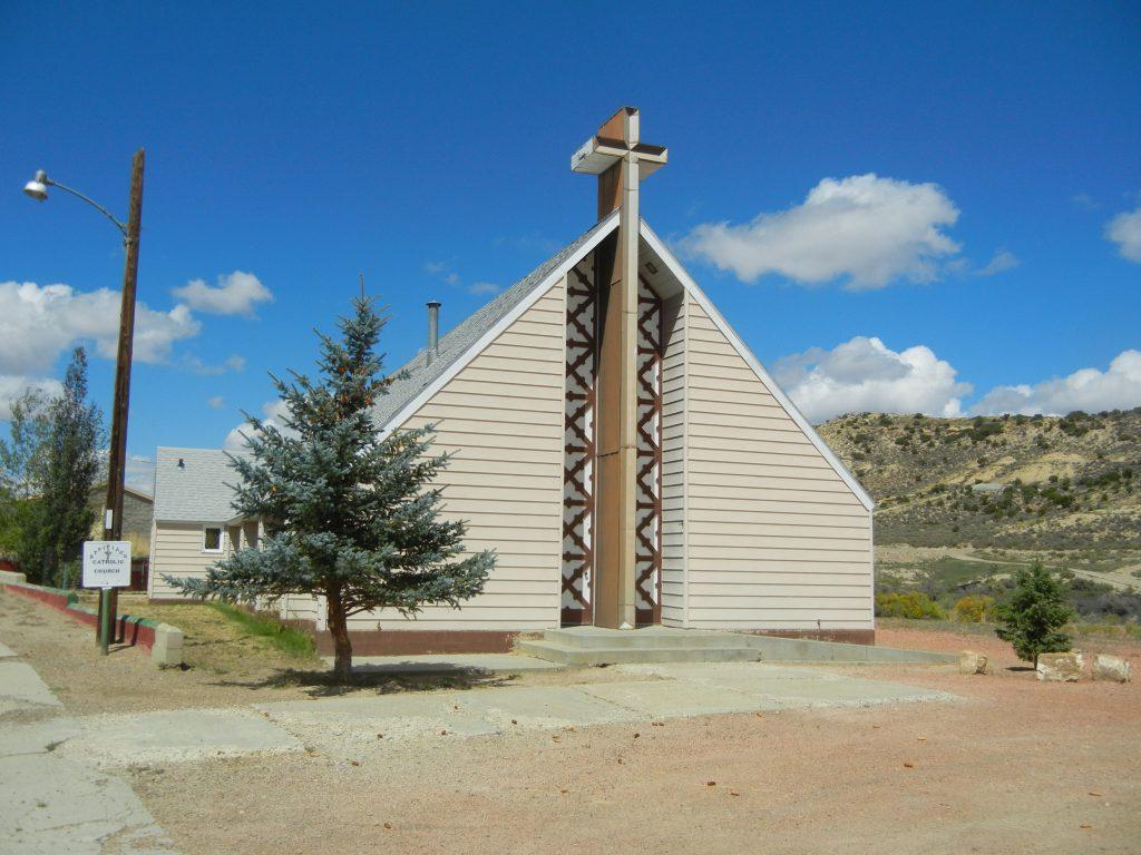 St. Vivian Catholic Church, Superior, Wyoming.