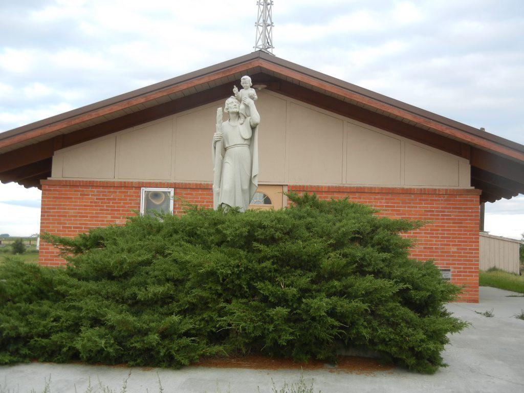 St. Christopher Catholic Church, Eden, Wyoming.
