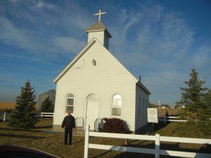 Fr. Kevin Koch, pastor, @ St. Joseph in Albin, Wyoming.