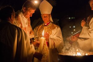 Easter Candle Lighting 2