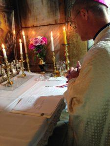 Mass in the Tomb: Holy Sepulcher, Jerusalem