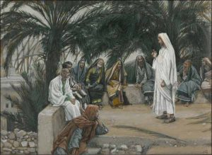 Jesus Teaching by James Tissot