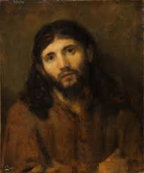 Rembrandt, Face of Christ