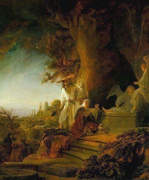 Rembrandt's Risen Christ Mary Magdalene