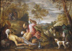 The Good Samaritan by David Teniers